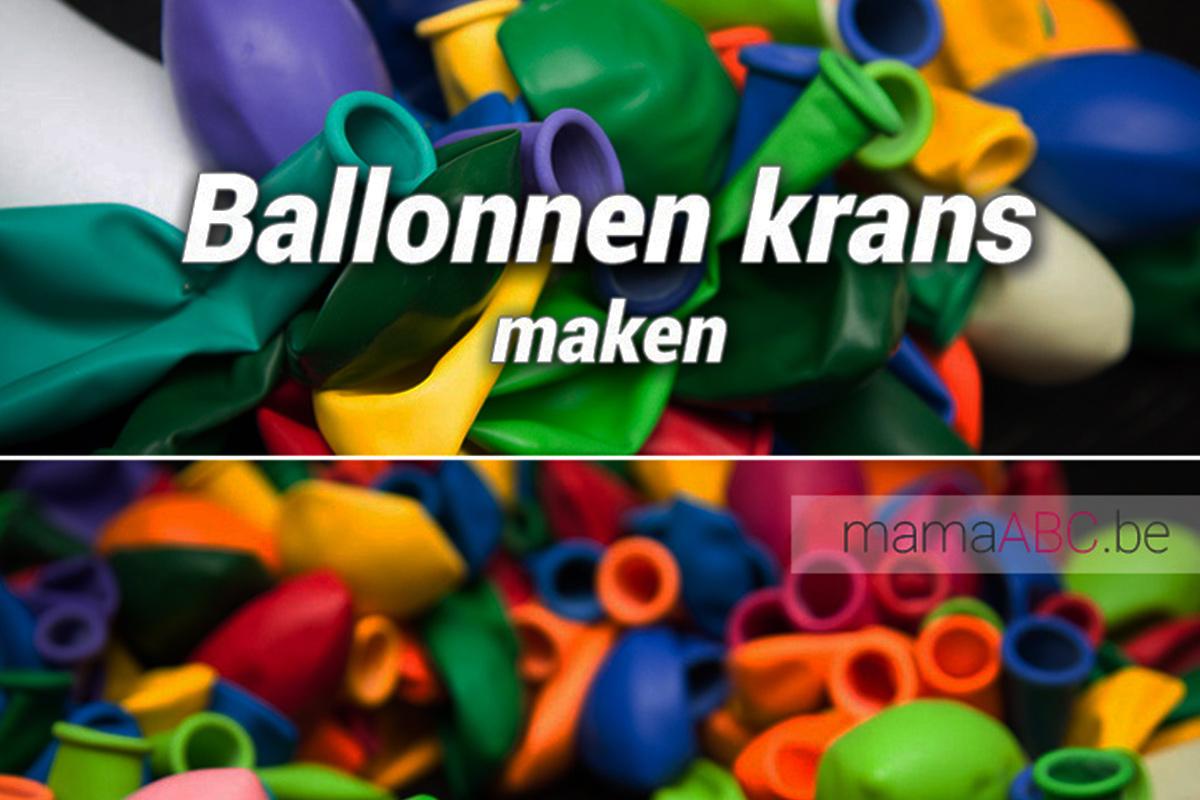 Extreem Ballonnenkrans en ballonnen prikkers zelf maken - DIY - Mama ABC @BI95