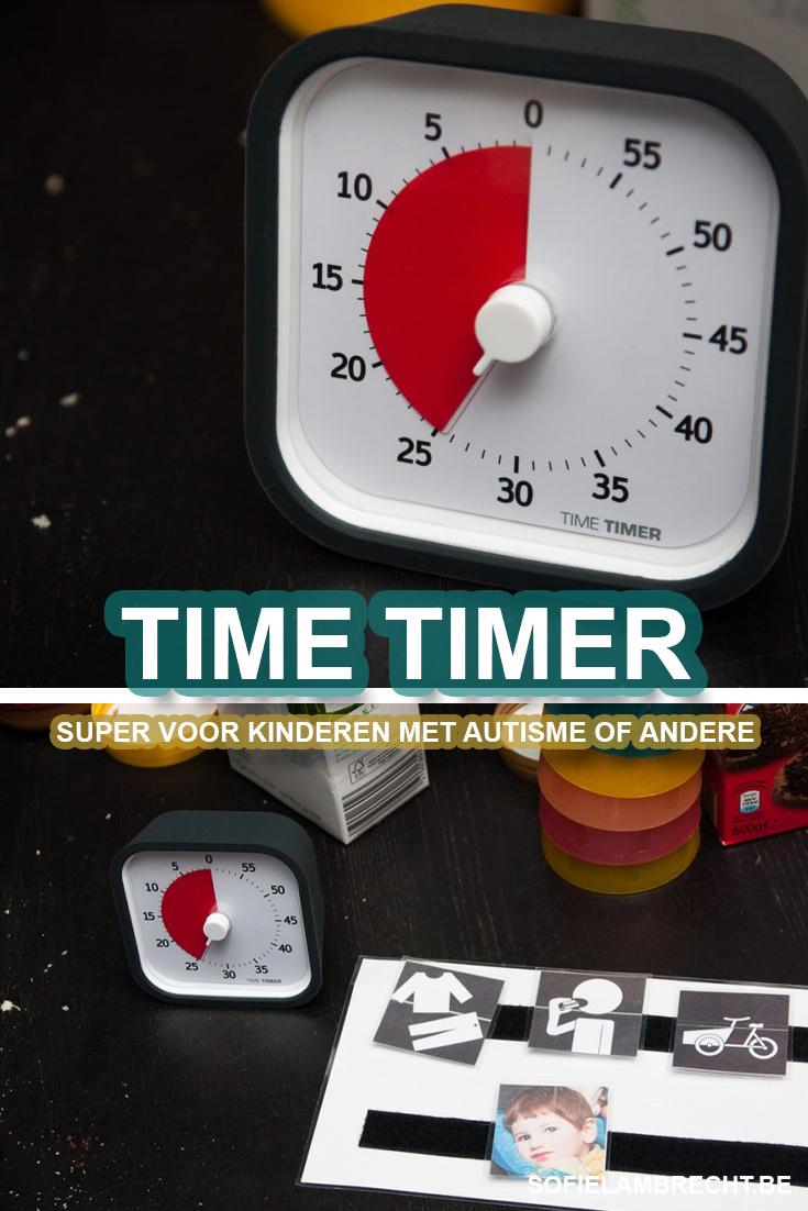 Time Timer Autisme Hulpmiddel kinderen