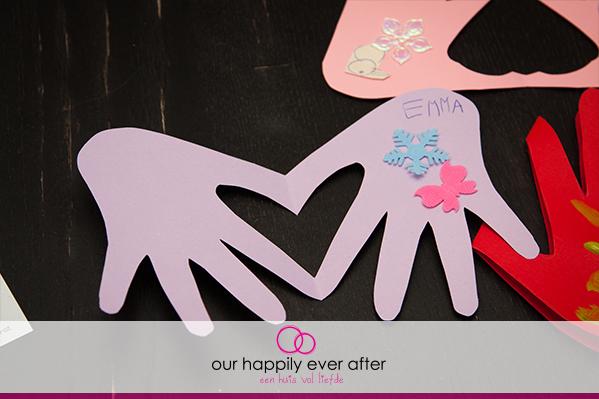 zelf moederdagkaarten knutselen met de kinderen moederdag kaart our happily ever after