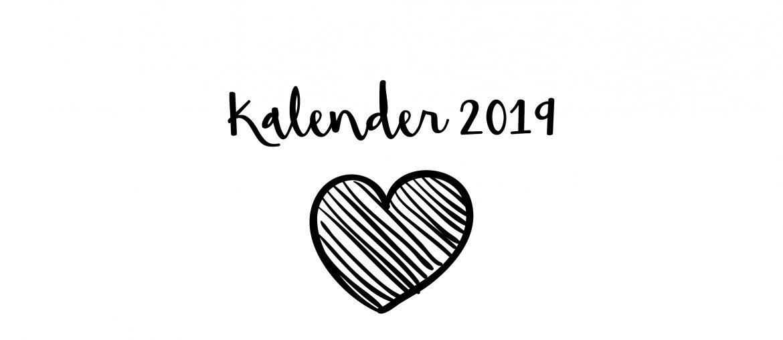 kalender 2019 zelf afprinten