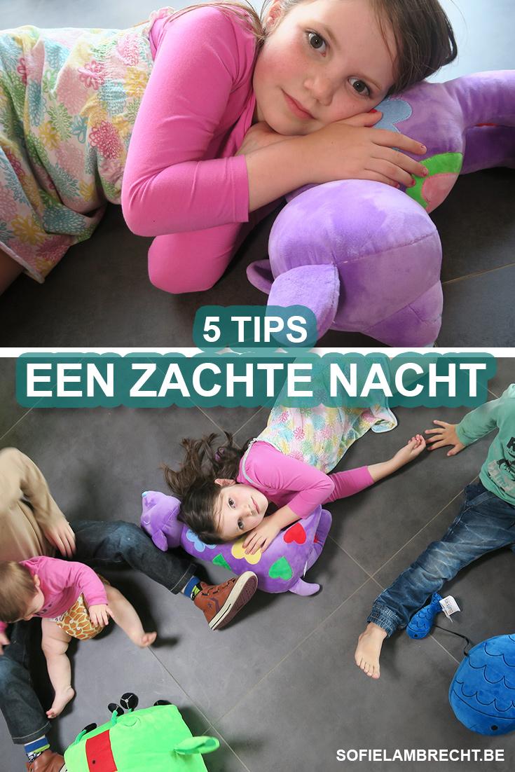 5 TIPS VOOR EEN ZACHTE NACHT