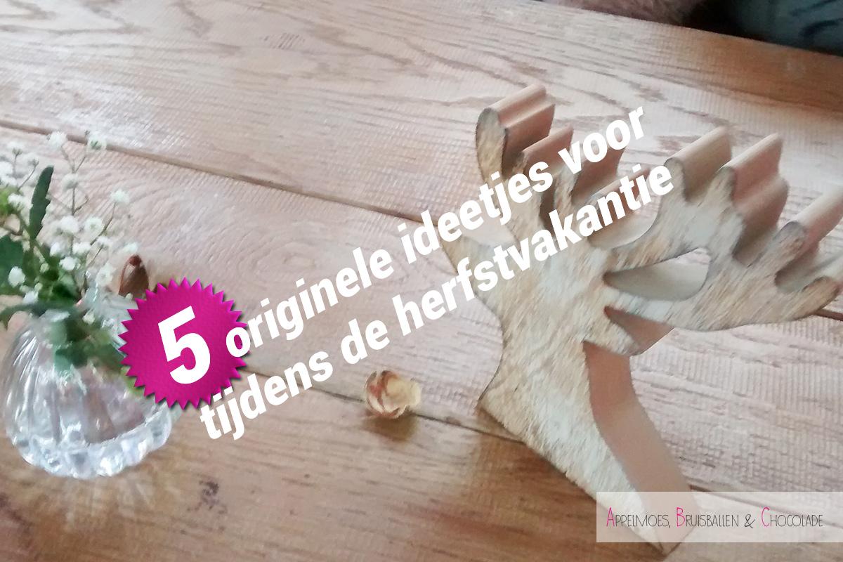5 ideetjes herfstvakantie appelmoes bruisballen chocolade mamaabc mama blog