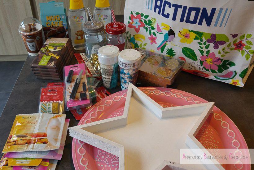 Action shoplog shoppen feestdagen appelmoes bruisballen chocolade mamaabc mamablog