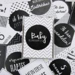 Kraamcadeau tip: Baby Mijlpaalkaarten