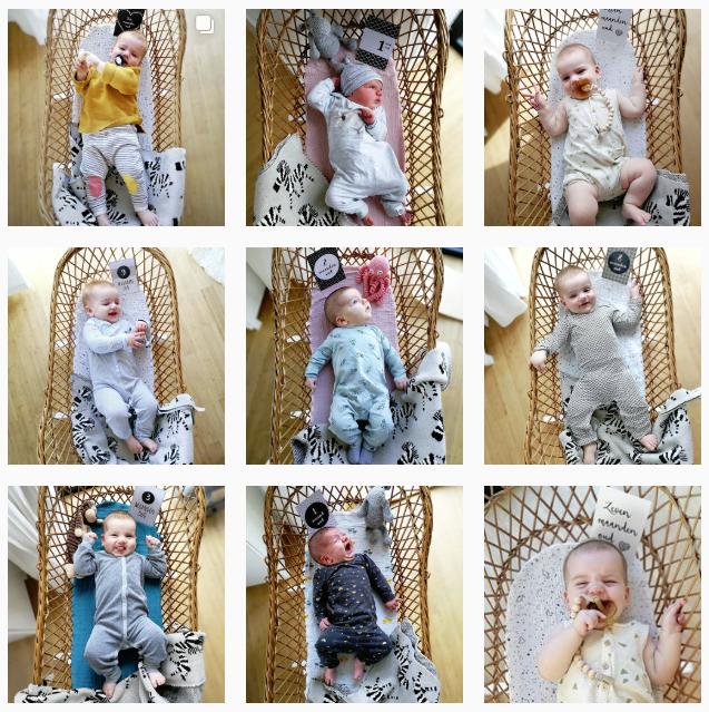 Baby mijlpaalkaarten