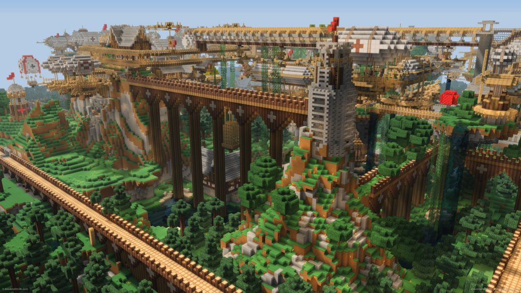 Uitgebreide creatie in Minecraft - Wat is Minecraft