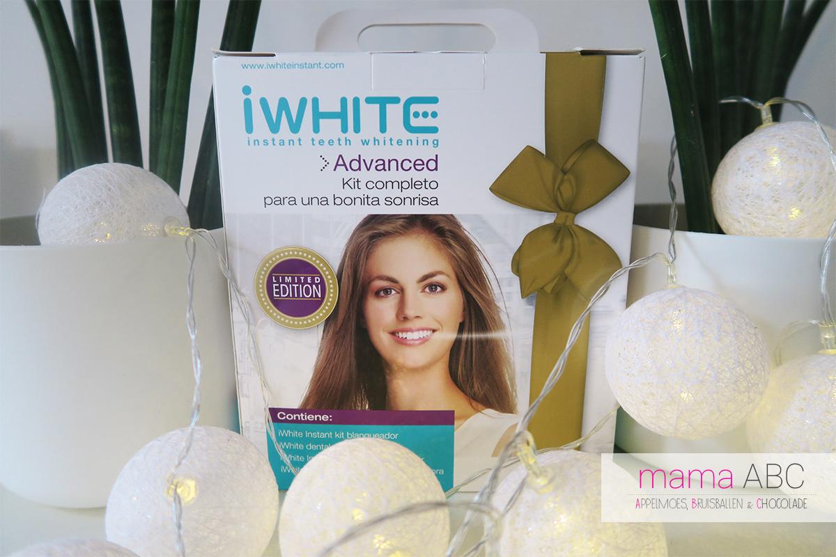 Witte tanen met iwhite mamaabc abc mama blog