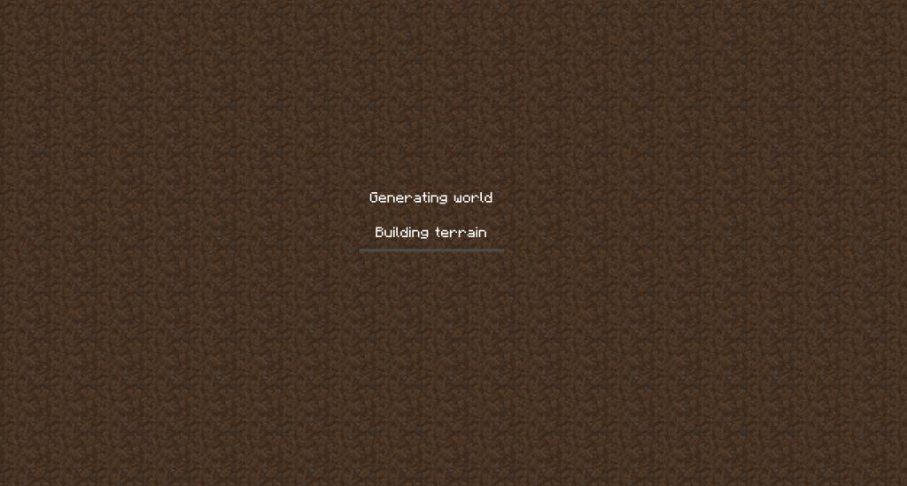 Minecraft bouwt een nieuwe wereld