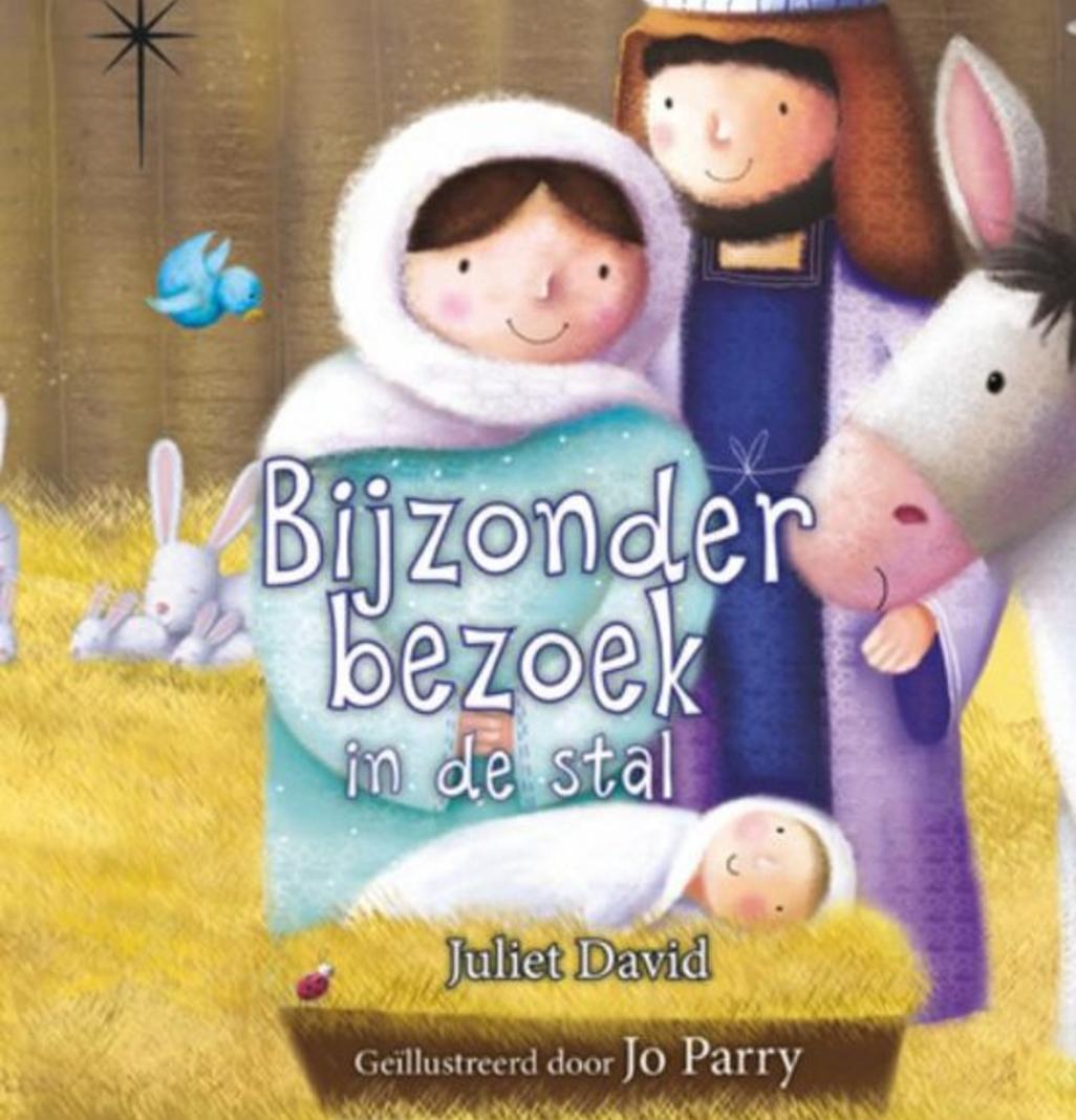 bijzonder bezoek in de stal - kerstboeken voor kinderen aftellen naar kerst