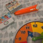 Klok leren lezen en begrijpen met tiptoi