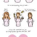 12 hilarisch herkenbare cartoons over het leven als kersverse moeder