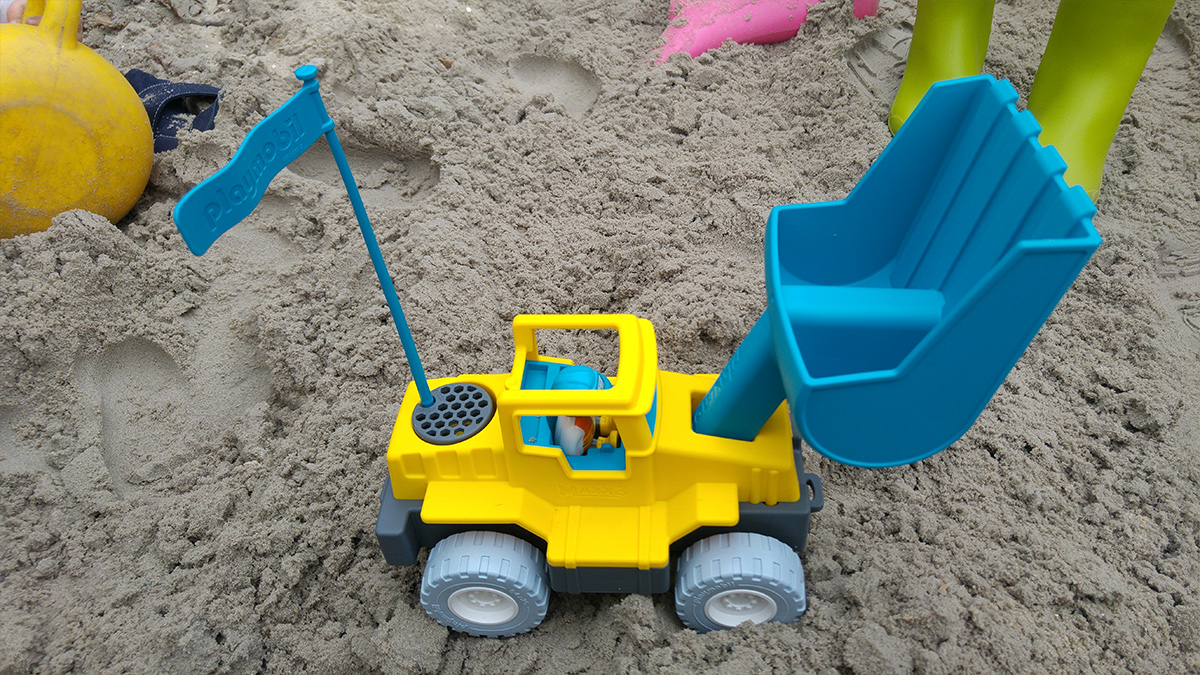 Playmobil zandspeelgoed