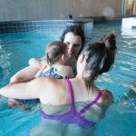Zwemmen met jonge kinderen