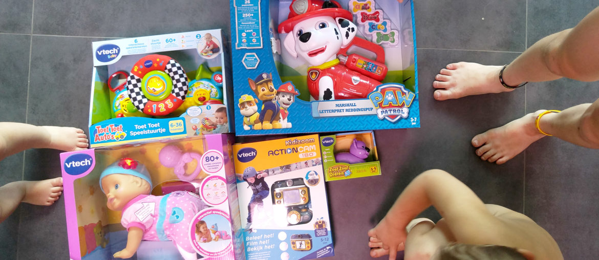 Verrassingsbox VTech Mama ABC Blog
