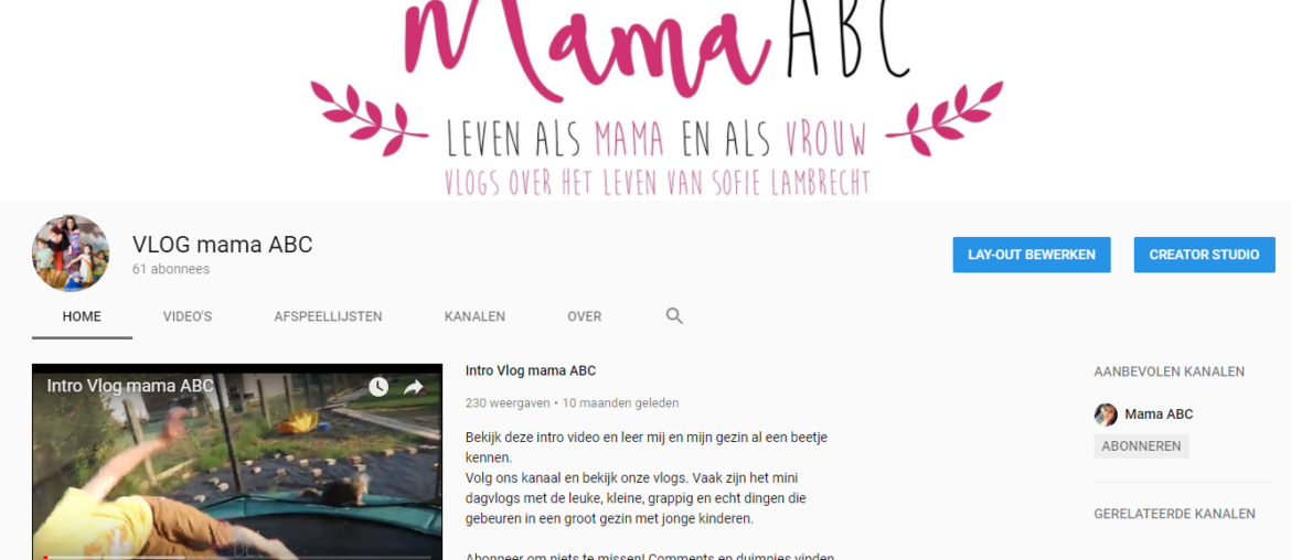 Mama ABC YouTube