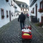 Wij gingen naar Kronenburg met onze vijf kinderen.