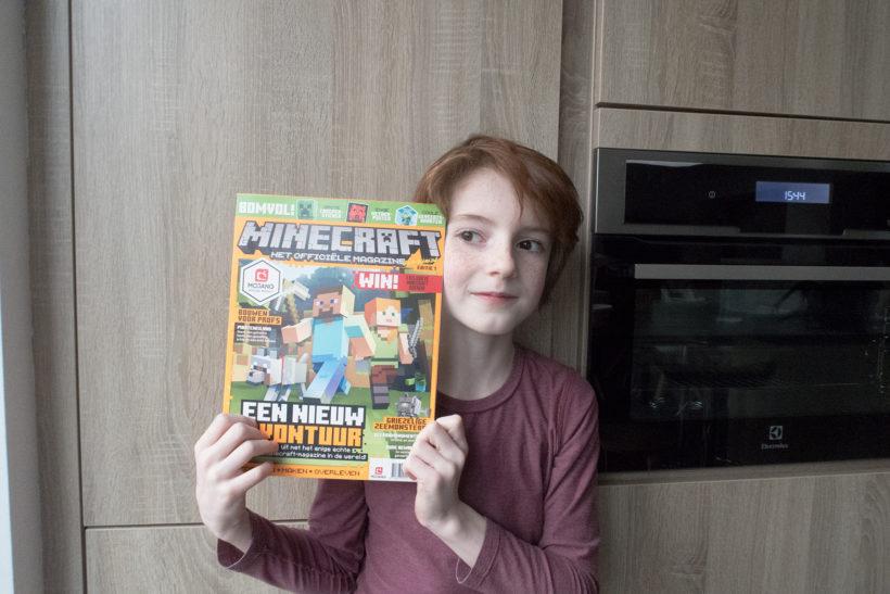 Minecraft Magazine Sofie Lambrecht Mama Blog