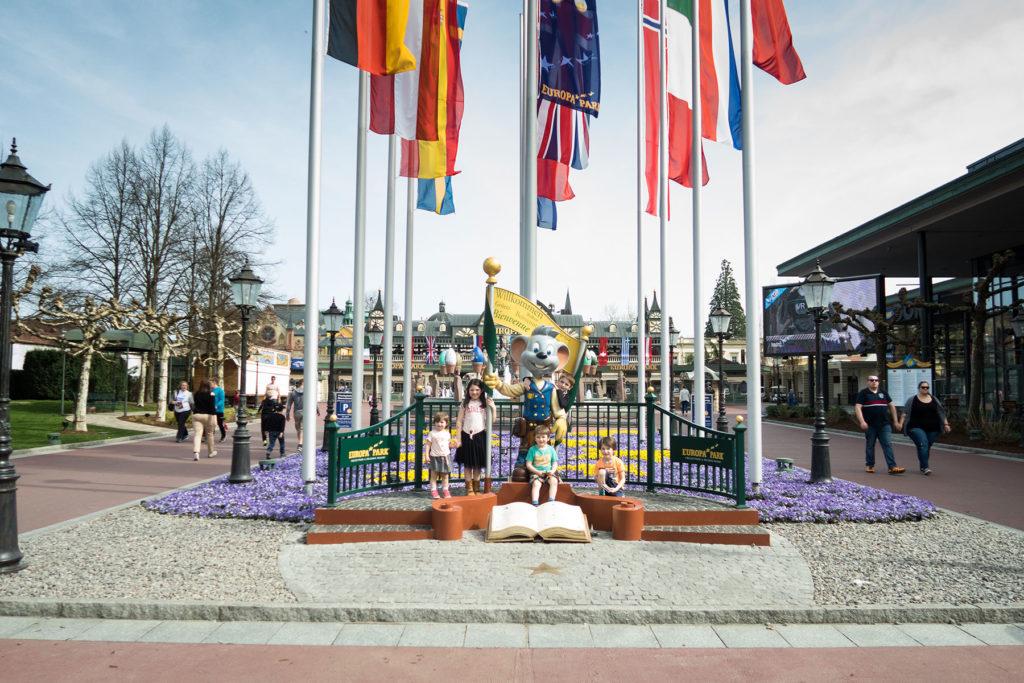 Europa-Park Pretpark Sofie Lambrecht