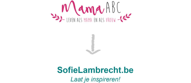 Sofie Lambrecht Mama Blog Header