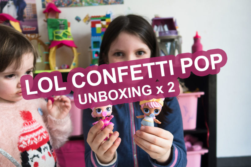 LOL Confetti POP Unboxing x 2 Sofie Lambrecht Mama Blog