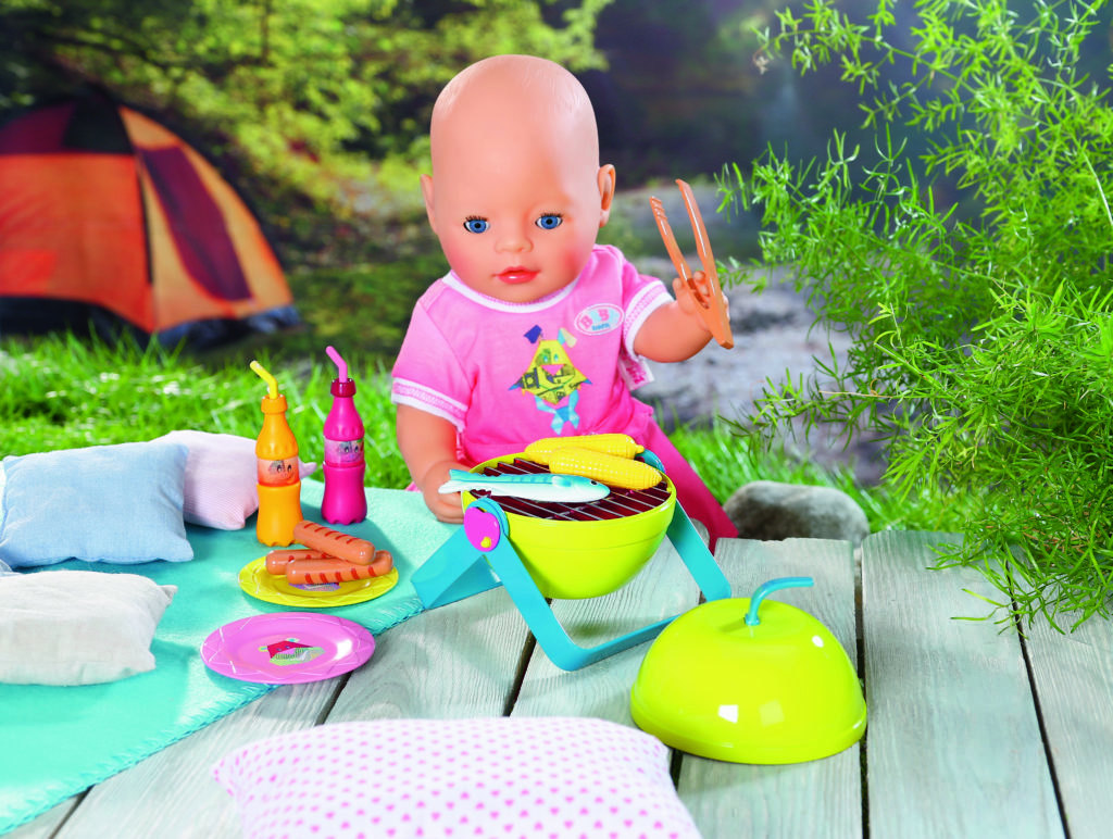 Baby Born Play&Fun Barbecue Set Sofie Lambrecht
