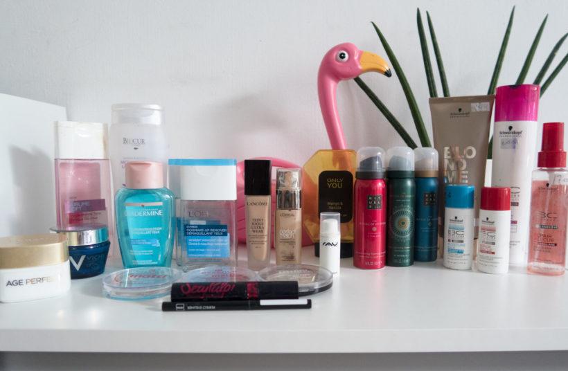 Opgemaakte producten Beauty Blog Sofie Lambrecht