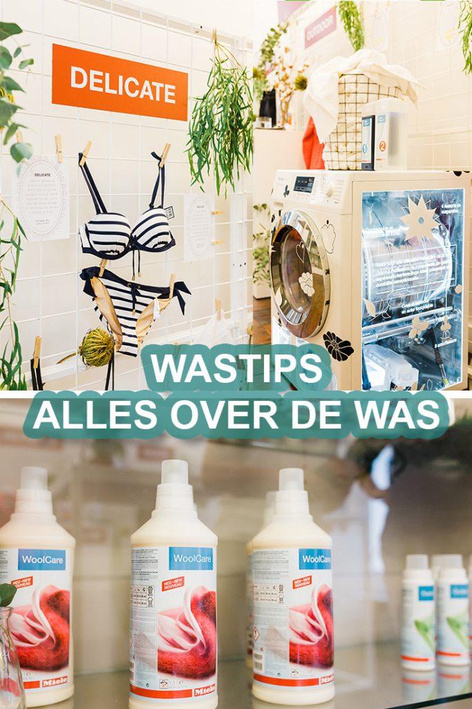 Wastips voor het wassen van kleding