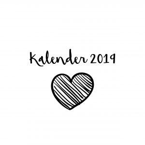 Maandkalender 2019