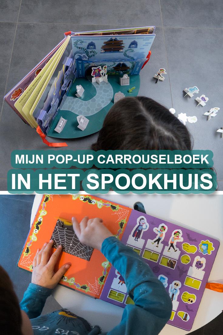 Mijn pop-up carrouselboek In Het Spookhuis