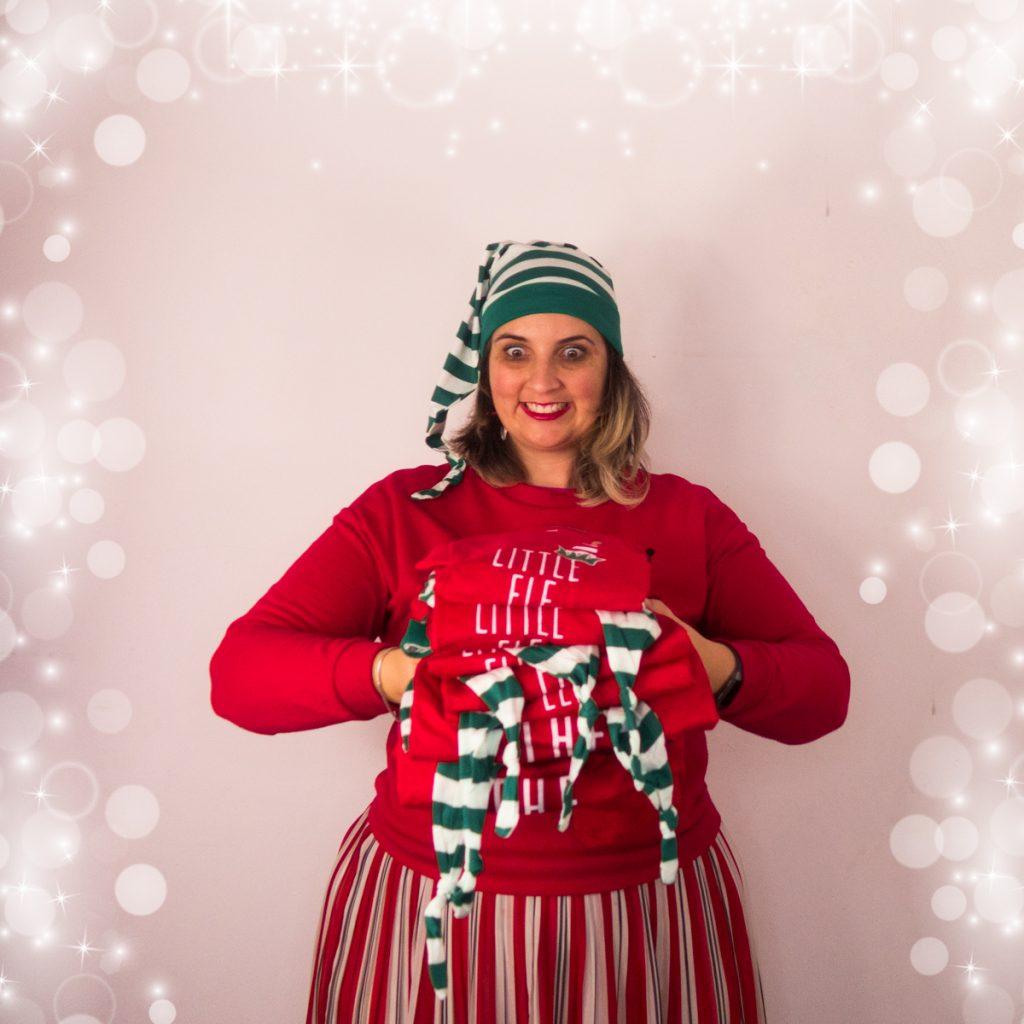 Matching xmas pyjamas foto kerstfoto inspiratie sofie lambrecht