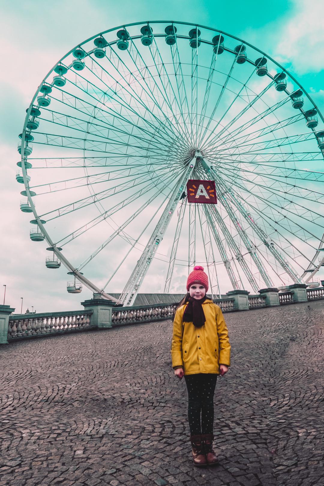 Winter in Antwerpen het geluidshuis