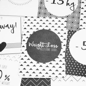 Mijlpaalkaarten Afvallen Weight Loss