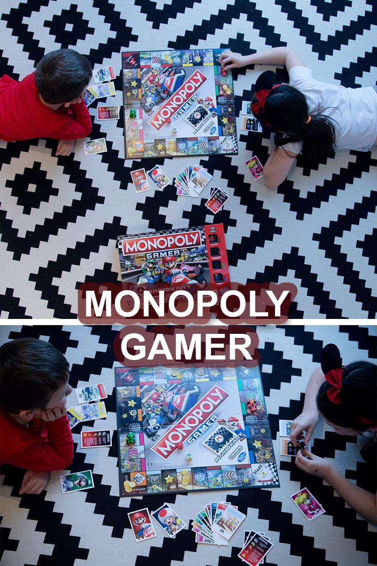 Monopoly Gamer Mario Kart Bordspel