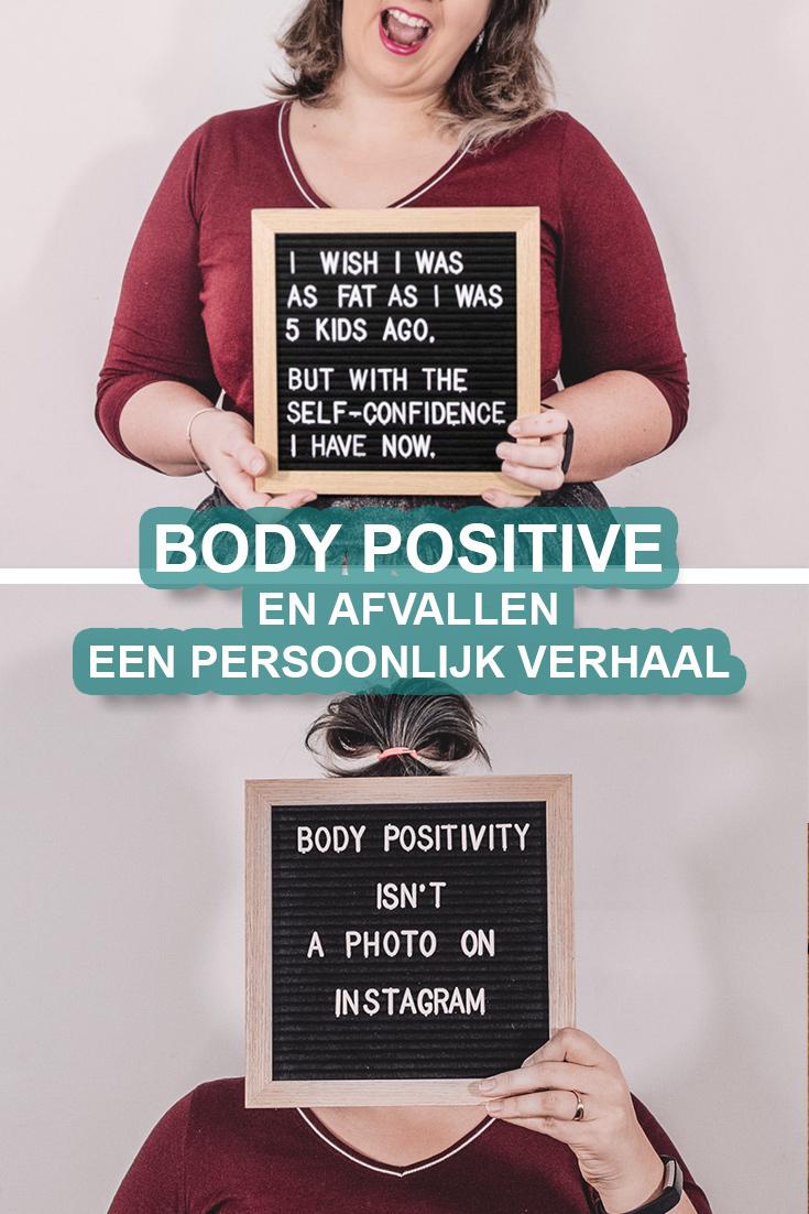 Body positivity en afvallen