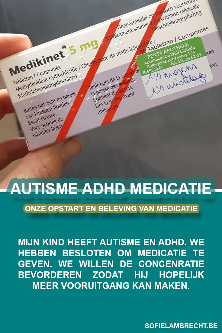 Autisme ADHD Medicatie Rilatine Rilatin Medikinet