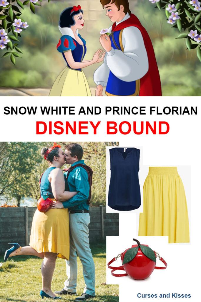Sneeuwwitje en Prins Florian Disneybound - Disneybounding