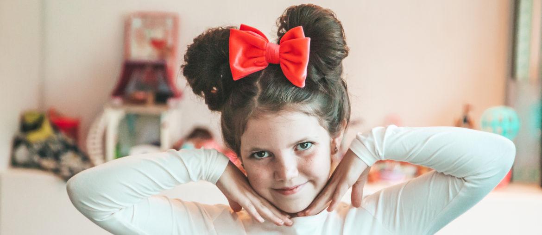 DIY Minnie Mouse Hair