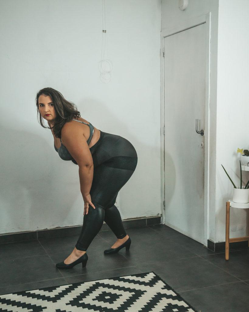 Legging en Hi-Waist Slip van Curveswear