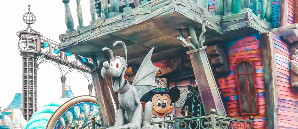 Disneyland Paris Halloween in Foto's