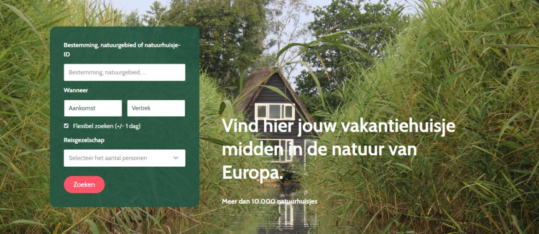 Natuurhuisje, logeren in een vakantiehuis midden in de natuur in europa