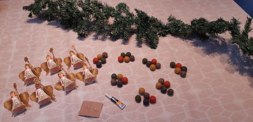 DIY Kerstversiering met playmobil