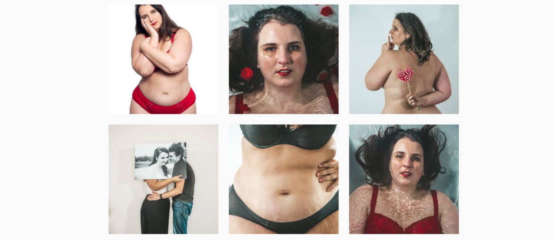 Body Pos Foto's op Instagram