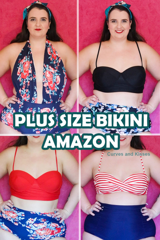 Plus Size Bikini's Amazon