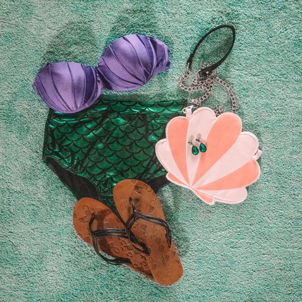 Disneybound Bikini Ariël De kleine zeemeermin