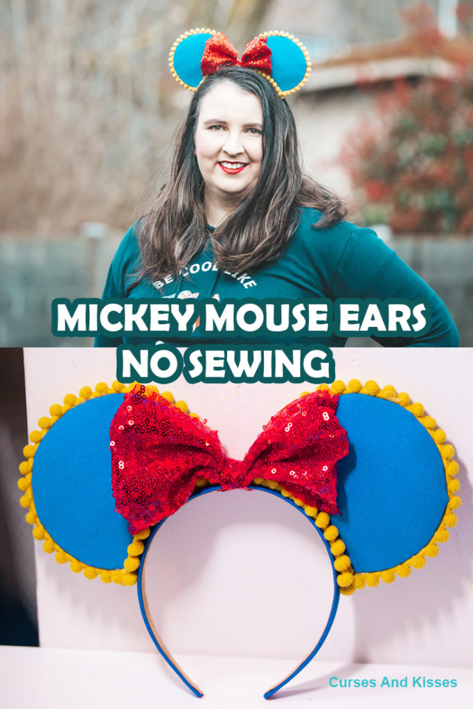 No Sew Mickey Mouse Ears