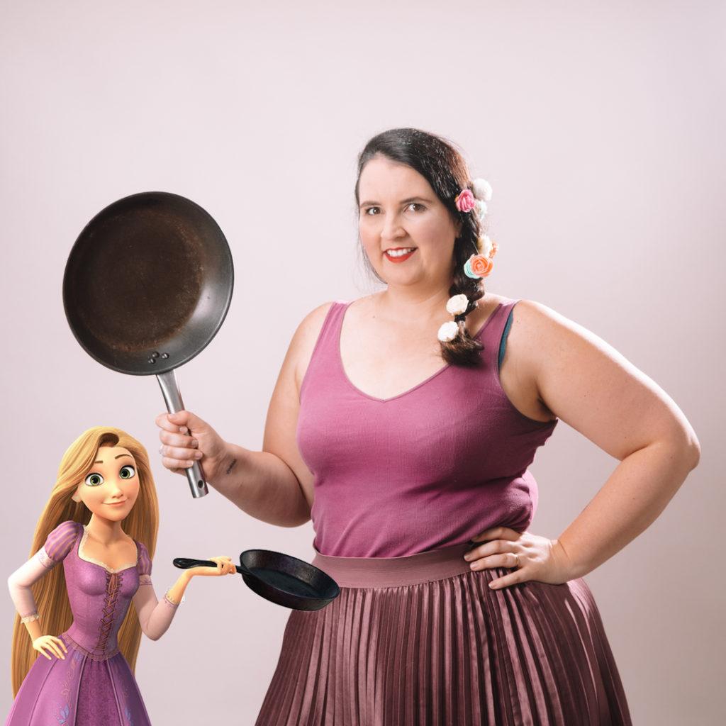Disneybound Rapunzel