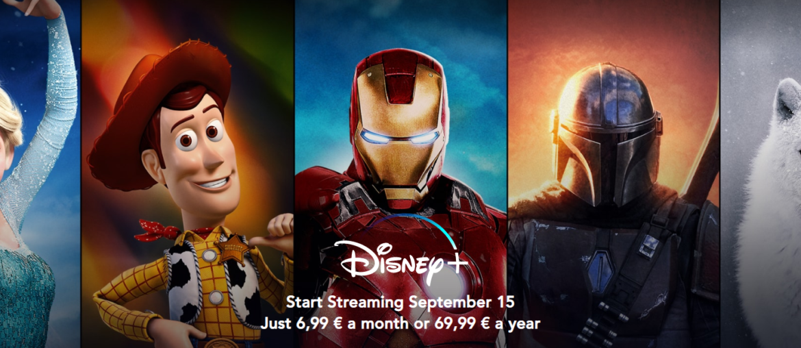 Disney+ Disneyplus in België