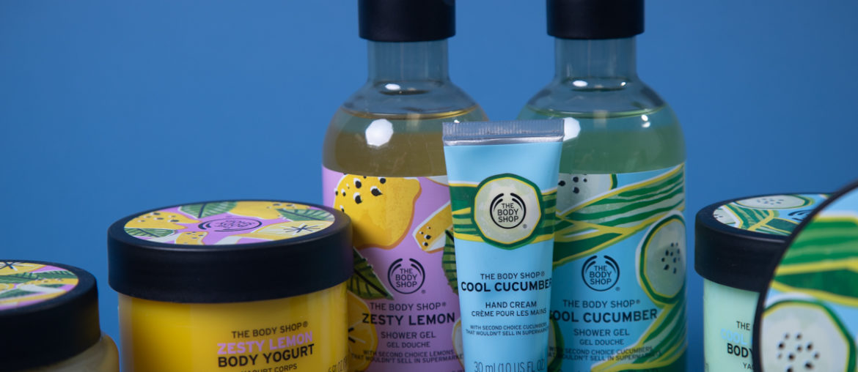 The Body Shop Cool Cucumber Zesty Lemon