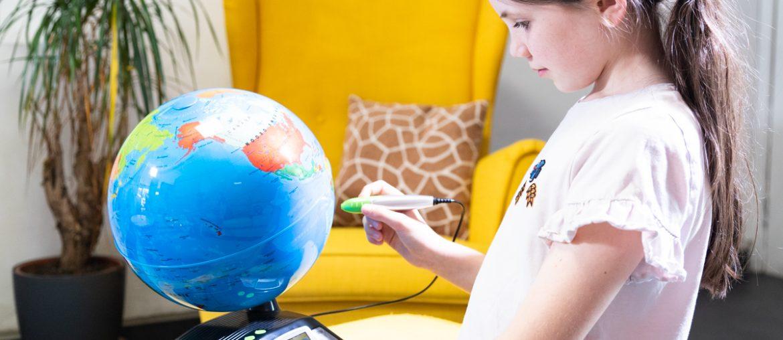 VTech Interactieve Video Globe - Wereldbol